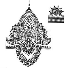 henna tattoo flower template mehndi - The world's most private search engine Henna Tattoo Hand, Henna Tattoo Designs, Henna Tattoos, Mehndi Designs, Henna Tattoo Muster, Mandala Arm Tattoo, Muster Tattoos, Henna Mandala, Mandala Tattoo Design