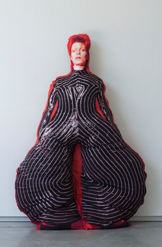 Lifesize David Bowie Pillow Doll - Soft Sculpture Bowie Art by ProxyShop on Etsy https://www.etsy.com/listing/193358614/lifesize-david-bowie-pillow-doll-soft