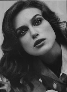 Keira Knightley. Someone told me we look alike. Best compliment I'd ever received.