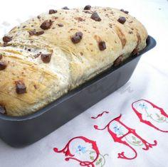 Receita: Pão de curgete com pepitas de chocolate