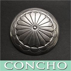Recommended for long wallets since the concho is outstanding.   Concho Western Metal WILD HEARTS Leather&Silver (ID cc3600)