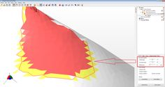 netfabb Enhanced Support Structures add-on for netfabb 6: Exact Angle Detection - Smooth Cluster Detection due to 2 Different Angles