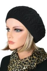 Cable Knit Beret By Jon Renau - Hats & Caps - Headwear Hats For Short Hair, Short Hair Cuts, Short Hair Styles, Wig Store, Jon Renau, Knitted Beret, Cheap Clothes Online, Hair Pieces, Caps Hats