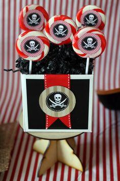 Pirates theme birthday party