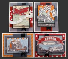 For the Guys Card Kit | Kim's Card Kits | Handmade Card Making Kit