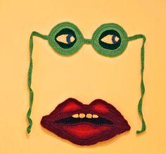 fabulous face bikini by Brigitta Bjerke
