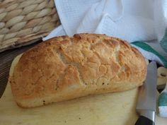 gluténmentes fehér kenyér sütés Sam Mills GM lisztkeverékből