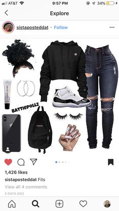 Find out other great ideas about Styles clothing, Loot attire and Woman styles. Jordan Outfits For Girls, Teenage Girl Outfits, Teen Fashion Outfits, Teenager Outfits, Outfits For Teens, Work Outfits, Cute Outfits For School, Cute Swag Outfits, Cute Comfy Outfits