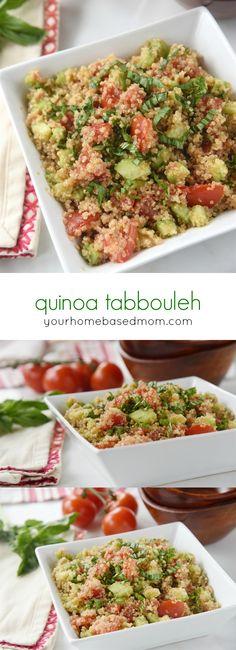 Quinoa Tabbouleh Sal