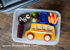 I'm always looking for ideas for my kids' lunches.  This blog is really cool.