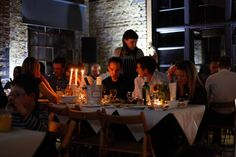 Disappearing Dining Club at First Option