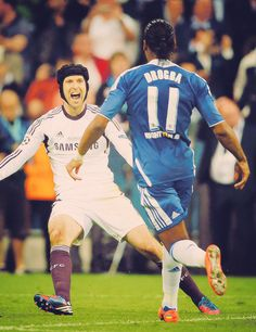 """""""Drogba's last kick of the ball for Chelsea..."""""""