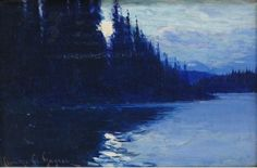 Canadian Painters, Canadian Artists, Clarence Gagnon, Art Gallery, Of Montreal, The Province, Paintings, Night, Travel