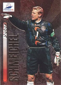 1998 Panini World Cup #1 Peter Schmeichel Front