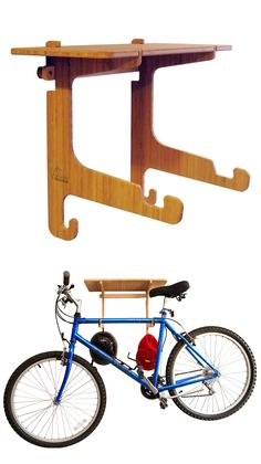 Rackcycle Bike Rack ( bamboo )