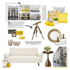 """""""10.04.2016"""" by desdeportugal ❤ liked on Polyvore featuring interior, interiors, interior design, home, home decor, interior decorating, Shiraleah, Intelligent Design, Surya and Dibbern"""