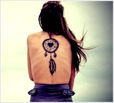 Cultural Dreamcatcher Tattoo - http://tattooloverscentral.com/cultural-dreamcatcher-tattoo/
