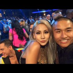 hokutokonishi's IG: Was great seeing chaelincl again at the #vmas last night