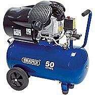 Draper 29355 50 Litre Air Compressor 230 Volt 2.2 Kilo Watt