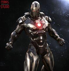 Iron Man : Stealth Armor by mars . on ArtStation Marvel Art, Marvel Dc Comics, Marvel Heroes, Marvel Characters, Anime Comics, Marvel Avengers, War Machine Iron Man, Space Opera, Iron Man Art
