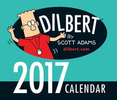 Join Dilbert and his troublesome office life with this 2017 desk calendar. Hilarious illustrations by Scott Adams of Dilbert, Alice, Wally and the PHB can be found on each daily page along with the… Desk Calendar 2017, Daily Calendar, Funny Calendars, Desk Calendars, Mouse Traps That Work, Dilbert Cartoon, Dilbert Comics, Monthly Pictures, Scott Adams