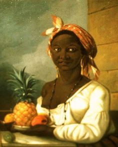 "This rare painting of a slave by Canadian artist François Malépart de Beaucourt, titled ""Portrait of a Haitian Woman,"" currently hangs at the Montreal Museum of Fine Arts. It is believed that de Beaucourt completed the work in Saint Domingue, the French colony that is now Haiti, in 1786, and that the woman in the painting was brought as a slave to Montreal in 1792. The portrait provides a brief glimpse into Canada's history of slavery. (Courtesy McCord Museum)"