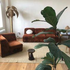 leah (@championistic) / Twitter Room Ideas Bedroom, Room Decor, Room Interior, Interior And Exterior, Home Living Room, Living Spaces, Retro Interior Design, Dream Apartment, House Rooms