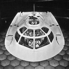 The Proteus craft, from the 1966 sci-fi movie classic, Fantastic Voyage.