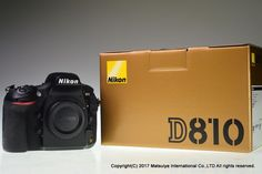 NIKON D810 36.3 MP Digital Camera Body Shutter Count 19269 Excellent+ #Nikon