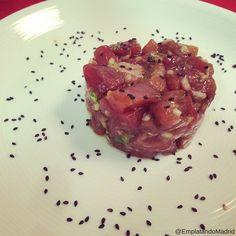 Receta de tartar de atún rojo oriental Sashimi, Tuna, Steak, Pasta, Fish, Recipes, Meals, Tuna Tartar, Pisces