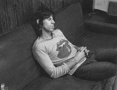 Keith in Los Angeles, 1972