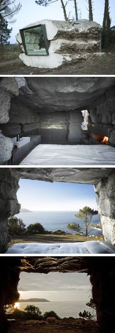 Truffle House by Ensamble Studio in Laxe, Spain