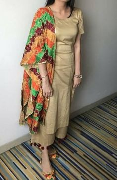 Suits Indian Dresses, Indian Outfits, Pakistani Outfits, Punjabi Fashion, Indian Fashion, Indian Attire, Indian Wear, Stylish Dresses, Simple Dresses