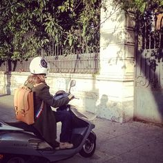 #Annoni #AnnoniBags #BuenosAires #Argentina #backpack #Honda #Elite #Scooter #lifestyle