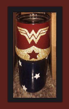 20 oz. Tumbler | Wonder Woman Insulated Tumblers, Cups, Wonder Woman, Crafts, Women, Mugs, Manualidades, Handmade Crafts, Wonder Women