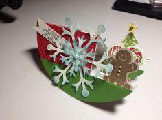 Christmas Sidestep Card