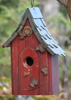 Birdhouse Shingle Roof