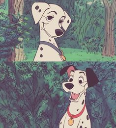 Great for valentines DISNEY 101 Dalmatians  men\u2019s tie with Pongo and Perdetia clutching each other\u2019s paws while hearts bubble through them