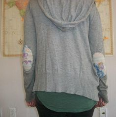 ==>DIY Elbow Patches DIY wednes-diy  Free People Blog
