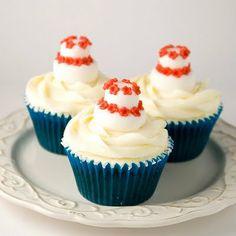 Earl Grey Cupcakes (receta de Alma Obregon)