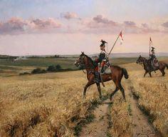 Lancers, 1838 - August Ferrer-Dalmau, 2014