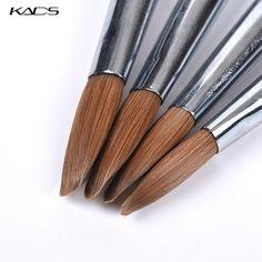 ACRYLIC Brush Nail Art Supply – SAINTCHiC Acrylic Nail Brush, Acrylic Set, Acrylic Brushes, Nail Art Brushes, Nail Art Supplies, Nail Art Tools, Nail Dust Collector, Nail Drawing, Wood Nails