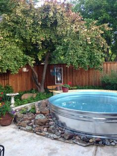 Stock Tank Pools Are Coming To A Backyard Near You This Summer - Neatorama