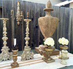 Alsace Candlestick - Aidan Gray Designed By Kristen with Bellissimo Decor - http://bellissimodecor.com
