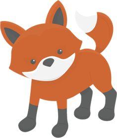 Cute Fox SVG