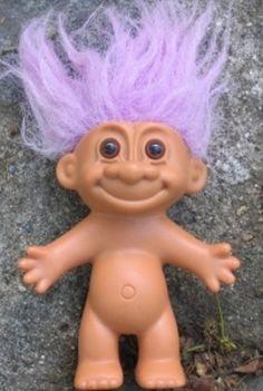troll dolls...loved playing with them ;)