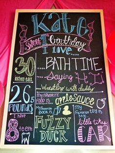 Modern Oklahoma Calligraphy, Design, and Photography By Kylie Hubbard: Chalkboards!