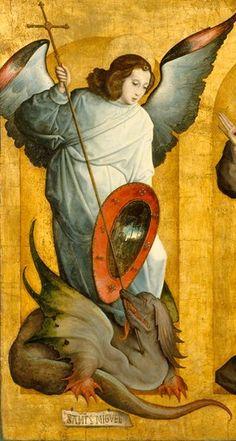 Archangel Michael, Juan de Flandes, 1505-09.