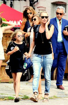 Stylin' Together, Kate Moss & Lila Grace