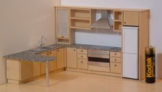 1/24th scale kitchen